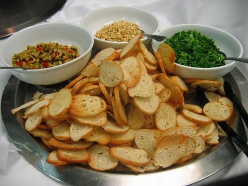 Gazpacho Toppings